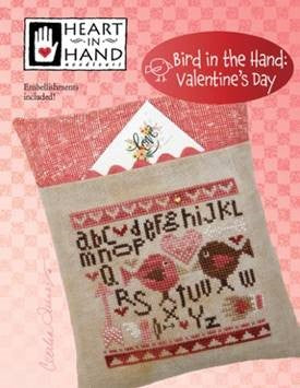 Bird in the Hand , Valentine's Day - Heart in Hand