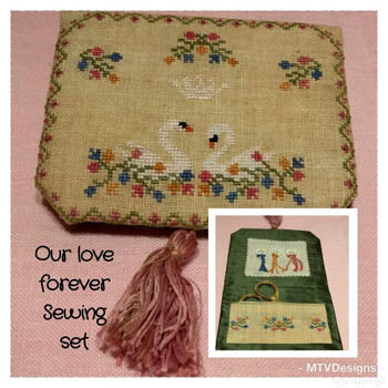 Our Love Forever Sewing Set - MTV Designs