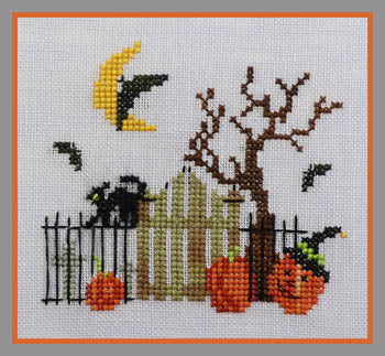 Bats, Cats & Witches Hats - Stitchworks