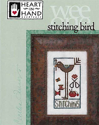 Stitching Bird - Heart in Hand