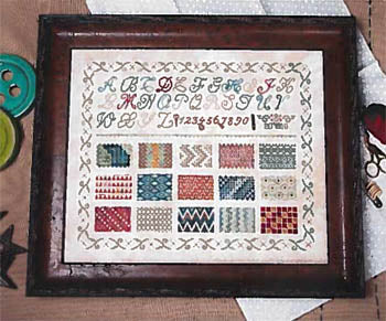 Learning Stitches - Jeanette Douglas Designs