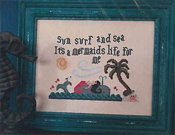 It's A Mermaids Life For Me - Vintage Needlearts