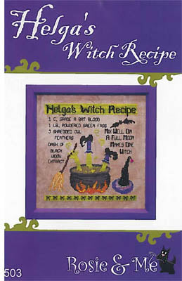 Helga's Witch Recipe - Rosie & Me Creations