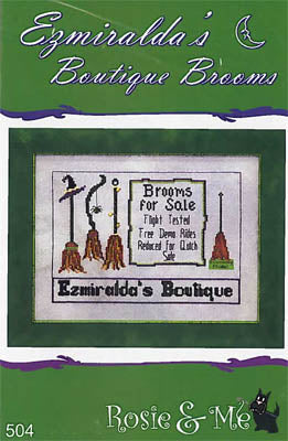 Ezmiralda's Boutique Brooms - Rosie & Me Creations