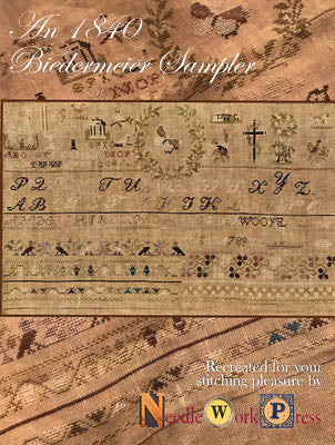 1840 Biedermeier Sampler - Needle WorkPress