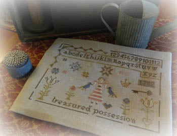 Treasured Stitch - Tree of Life Samplings