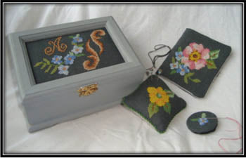 Flowers for My Stitching - Works by ABC