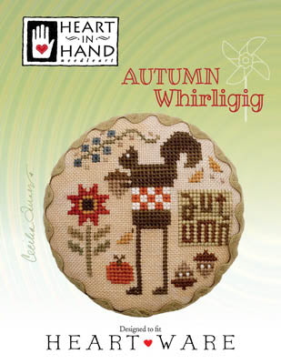 Autumn Whirligig - Heart in Hand