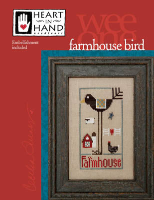 Farmhouse Bird - Heart in Hand