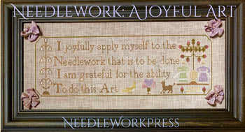 Needlework, A Joyful Art - Needle WorkPress