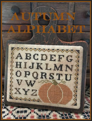 Autumn Alphabet - Scarlett House