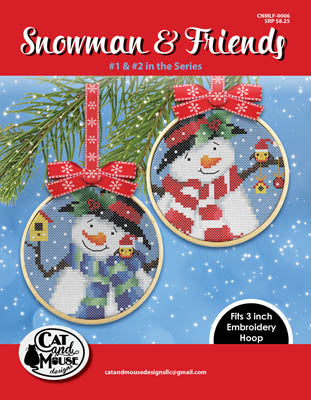 Snowman & Friends 1 & 2 - Cat and Mouse Designs