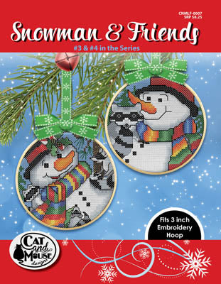 Snowman & Friends 3 & 4 - Cat and Mouse Designs