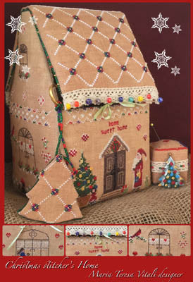 Christmas Stitcher's House - MTV Designs