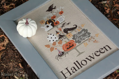 Celebrate Halloween - Madame Chantilly