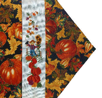 Seasonal Table Runner - Fall - Stitchworks