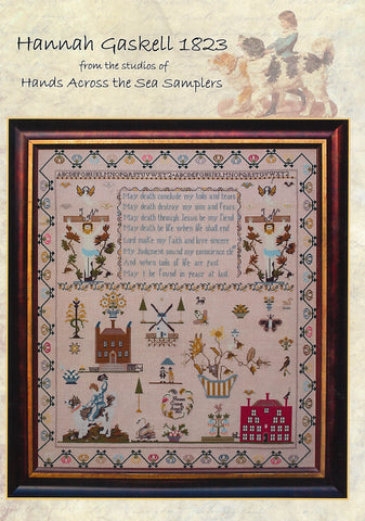 Hannah Gaskell 1823 - Hands Across the Sea Samplers