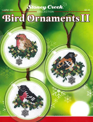 Bird Ornaments II - Stoney Creek