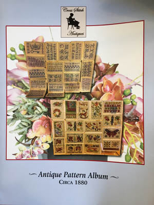 Antique Pattern Album Circa 1880 - Cross Stitch Antiques