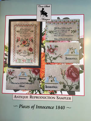 Pieces Of Innocence 1840 - Cross Stitch Antiques