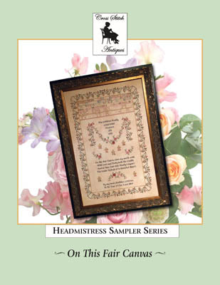 On This Fair Canvas: Family Tribute Sampler - Cross Stitch Antiques