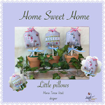 Home Sweet Home Little Pillows - MTV Designs