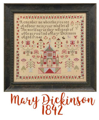 Miss Mary Dickinson 1842 - Just Stitching Along