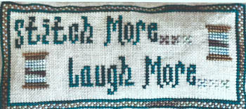 Stitch More Laugh More - Mountain Aire Designs