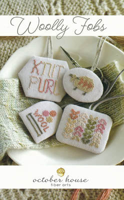 Woolly Fobs - October House Fiber Arts