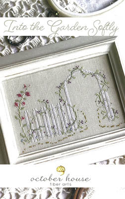 Into The Garden Softly - October House Fiber Arts