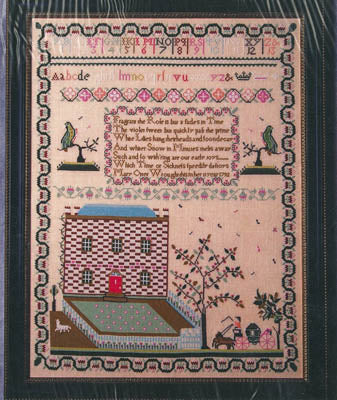 Mary Otter 1792 Sampler Reproduction - Gentle Pursuit Designs