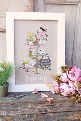 Celebrate Spring - Madame Chantilly