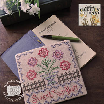 Ladies Garden Journal 1 - Sweet William - Summer House Stitche Workes