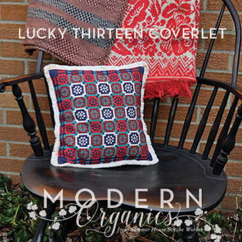 Lucky 13 Coverlet - Summer House Stitche Workes