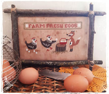 Farm Fresh Eggs - Fairy Wool In The Wood