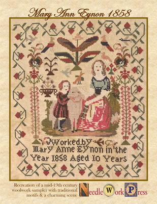 Mary Anne Eynon 1858 - Needle WorkPress