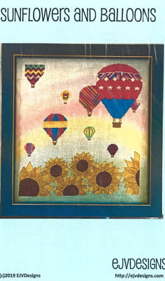 Sunflowers and Balloons - EJV Designs