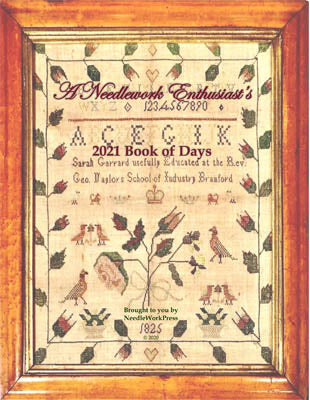 Book Of Days 2021 - Needle WorkPress