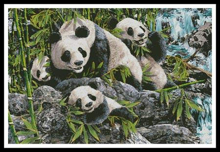 12 Pandas - Artecy Cross Stitch