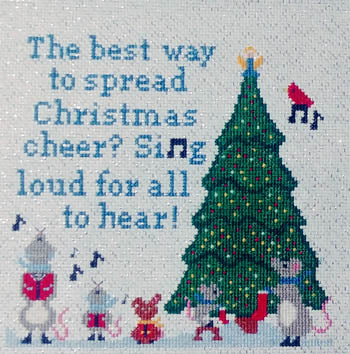 Christmas Cheer - Sister Lou Stitches