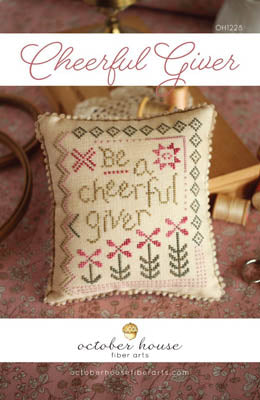 Cheerful Giver - October House Fiber Arts