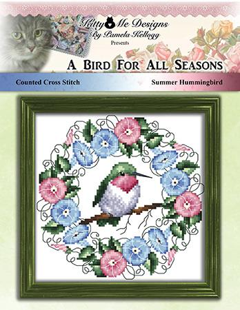 A Bird For All Seasons Summer Hummingbird - Kitty & Me Designs