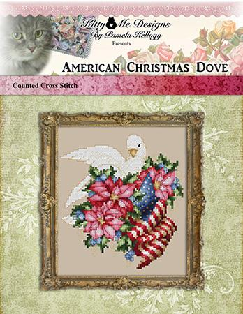 American Christmas Dove - Kitty & Me Designs