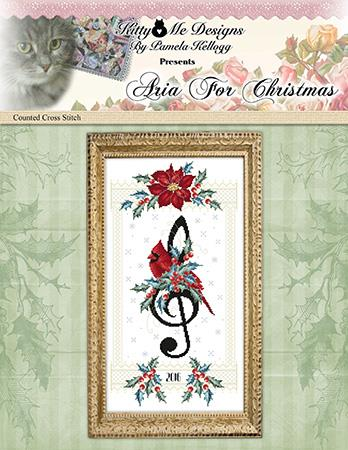 Aria For Christmas - Kitty & Me Designs