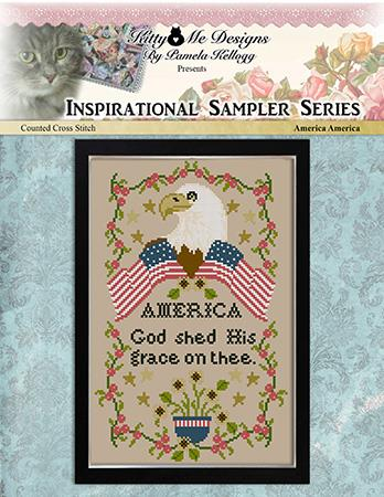 America America Sampler - Kitty & Me Designs