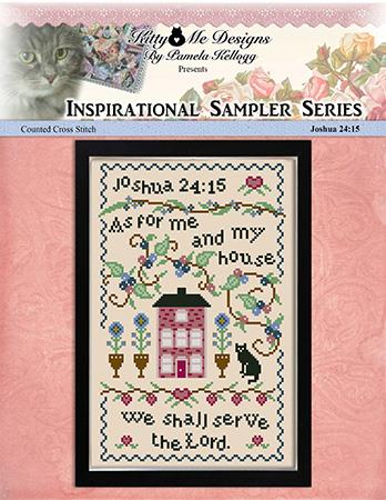 As For Me And My House Sampler  - Kitty & Me Designs