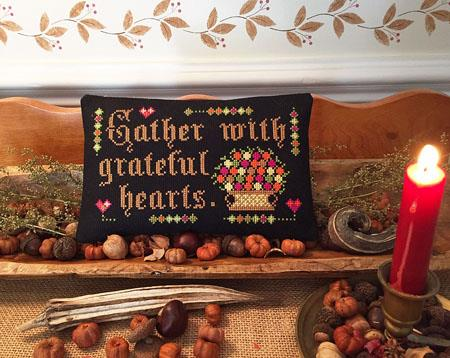 Gather With Grateful Hearts - Calico Confectionary