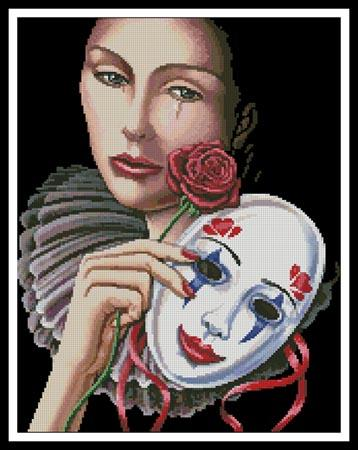 Behind The Mask - Artecy Cross Stitch