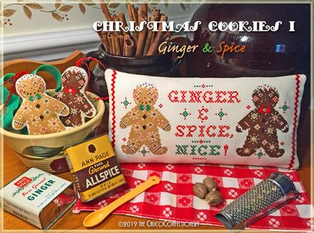 Christmas Cookies I; Ginger & Spice - Calico Confectionary
