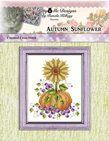 Autumn Sunflower - Kitty & Me Designs